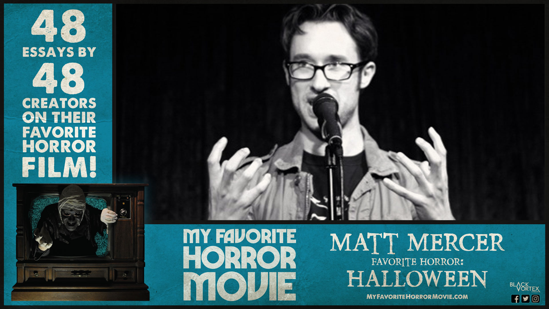 My Favorite Horror Movie Matt Mercer On John Carpenters Halloween  Culled From The  Bestselling Book My Favorite Horror Movie Which  Features  Essays By Horror Creators On The Films Which Shaped Them They  Serve To